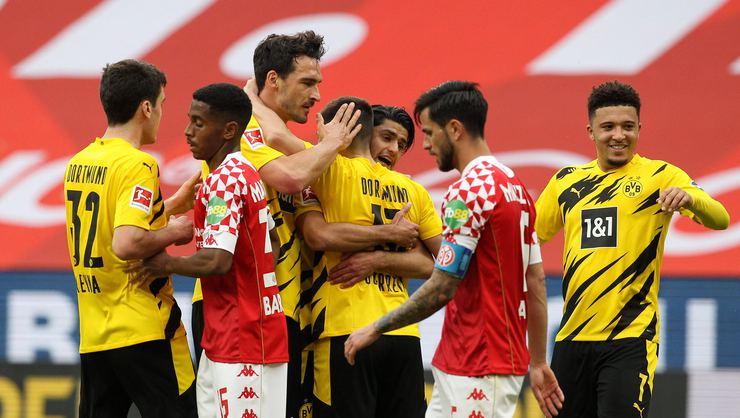 Mainz vs Borussia Dortmund