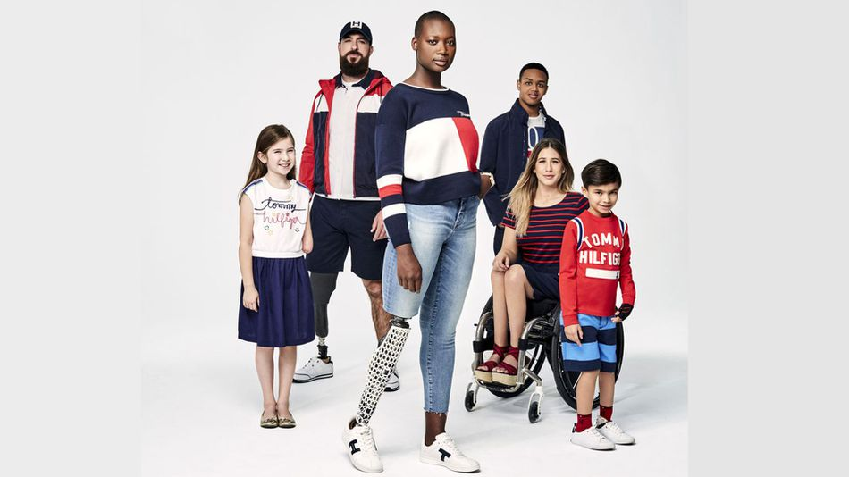 Fashion Tommy Hilfiger Adaptive Campaign
