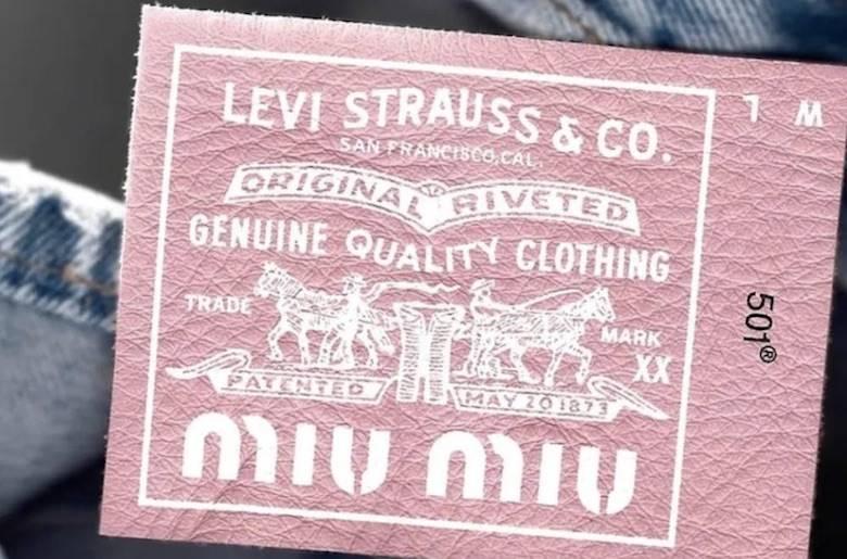 fashion spotlight kemitraan miu miu dan levi's