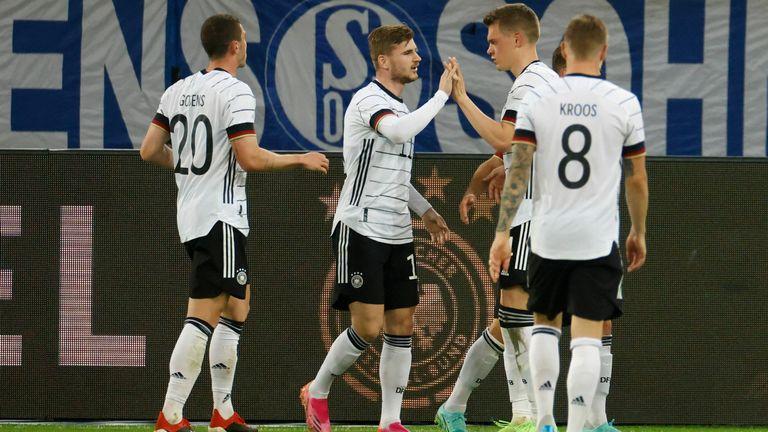 Jerman vs Latvia