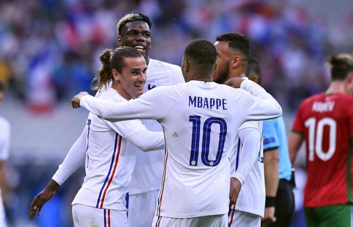 Prancis vs Bulgaria